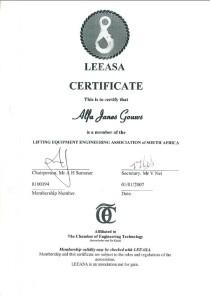 LEEASA_certificate